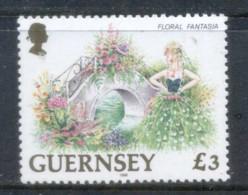 Guernsey 1996 Pictorial, Floral Fantasie ?3 MUH - Guernsey