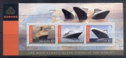 Isle Of Man 2008 Cunard Ocean Liners MS MUH - Isola Di Man