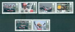 Isle Of Man 2009 Lewis Hamilton Formula 1 Pairs MUH Lot66416 - Isle Of Man