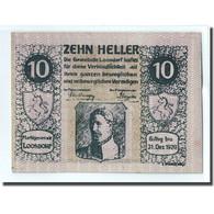 Billet, Autriche, Loosdorf, 10 Heller, Texte, 1920, 1920-04-08, SPL, Mehl:563b - Autriche