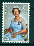 Jersey 1991 HM The Queen Portrait MUH Lot66492 - Jersey