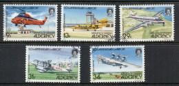 Alderney 1985 Airport 50th Anniv. FU - Alderney