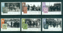 Isle Of Man 2010 KGV Visit & Accession To Throne MUH Lot66433 - Man (Ile De)