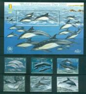 Jersey 2000 Marine Mamals = World Stamp Ex MS MUH Lot66497 - Jersey