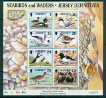 Jersey 1997 Pictorials, Birds Pacifica '97 MS MUH - Jersey