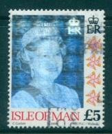 Isle Of Man 1994 £5 QEII Hologram FU Lot70319 - Isle Of Man