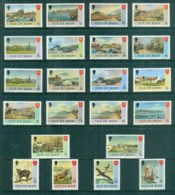 Isle Of Man 1973-75 Pictorials, Ship, Bird (22) MUH - Isle Of Man