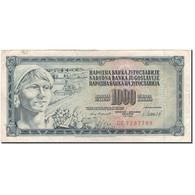 Billet, Yougoslavie, 1000 Dinara, 1981-11-04, KM:92c, TB+ - Yugoslavia