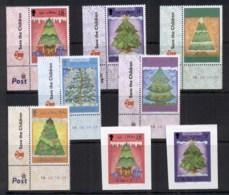 Isle Of Man 2006 Xmas Trees + P&S MUH - Man (Ile De)