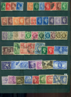GB 1936 On KEVIII & KGVI Assorted Oddments FU Lot53611 - Zonder Classificatie