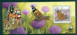 Ireland 2005 WWF Butterflies Of Ireland MS MUH Lot76226 - Unused Stamps