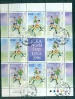 Ireland 1994 World Cup Soccer MS FU Lot78886 - 1949-... Republic Of Ireland