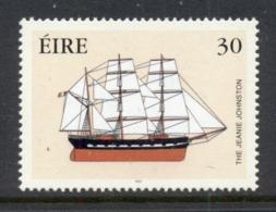 Ireland 2000 Emmigrant Ship MUH - Unused Stamps