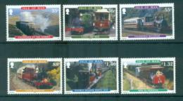 Isle Of Man 2010 Railways MUH Lot66419 - Man (Ile De)
