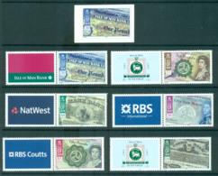 Isle Of Man 2008 Manx Bank Notes + P&S MUH Lot66431 - Man (Ile De)