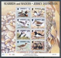 Jersey 1997 Seabirds & Waders MS MUH - Jersey