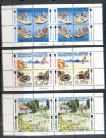 Jersey 1993 Scenic Views, Beach Scenes, Parade Floats Booklet Panes MUH - Jersey