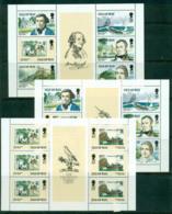 Isle Of Man 1989 Mutiny On The Bounty 3x Booklet Pane MS MUH Lot57359 - Isle Of Man
