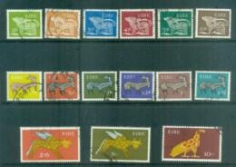 Ireland 1968-70 Animal Definitives Asst FU Lot78706 - 1949-... Republic Of Ireland
