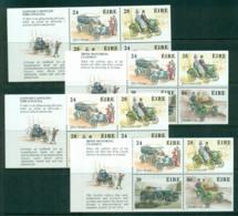Ireland 1989 Classic Automobiles 4x Booklet Pane MUH Lot57386 - 1949-... Republic Of Ireland