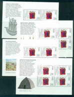 Ireland 1989 Saints & Missionaries 4x Booklet Pane MUH Lot57387 - 1949-... Republic Of Ireland