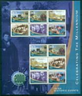 Ireland 2000 Millenium, Irish Historic Events MS MUH - Unused Stamps