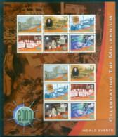 Ireland 2000 Millenium, World Events MS MUH - Unused Stamps