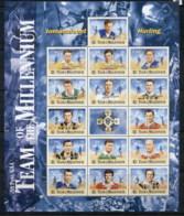 Ireland 2000 Hurling, Team Of The Millenium MS MUH - Unused Stamps