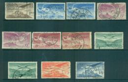 Ireland 1948-65 Air Angel Asst (faults) FU Lot68292 - 1937-1949 Éire