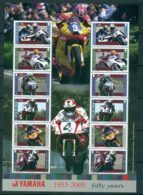 Isle Of Man 2005 Motorcycle Racers MS MUH Lot66514 - Man (Ile De)
