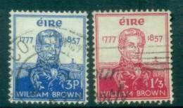 Ireland 1957 Admiral William Brown FU Lot78654 - 1949-... Republic Of Ireland