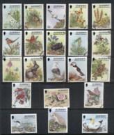 Alderney 1994-95 Flora & Fauna, Birds, Flowers, Butterflies FU - Alderney