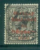 Ireland 1922 9d Agate Provisional Opt. Red Dollard FU Lot78392 - 1922-37 Irish Free State