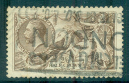 GB 1912-18 KGV 2/6d Seahorse Brown FU Lot66750 - 1902-1951 (Könige)