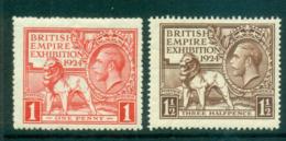 GB 1924 British Empire Exhibition MLH Lot66779 - 1902-1951 (Könige)
