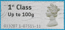 GB SG FS1 2008 Faststamp Code 013207 Used [32/168/25D] - Great Britain
