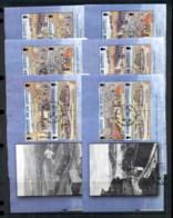 Alderney 1999-2000 Garrison Island 6xbooklet Panes FU - Alderney