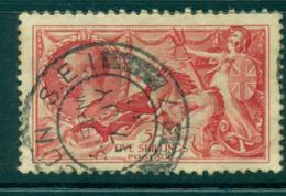 GB 1919 Seahorses Redrawn 5/- FU Lot32698 - 1902-1951 (Könige)