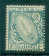 Ireland 1922-23 1/- Sword Of Light MLH Lot78561 - 1922-37 Irish Free State