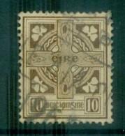 Ireland 1922-23 10d Celtic Cross FU Lot78543 - 1922-37 Irish Free State