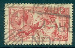 GB 1912-18 KGV 5/- Seahorse Rose Carmine FU Lot66751 - 1902-1951 (Könige)