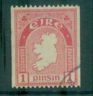 Ireland 1922-23 1d Map Of Ireland Coil(suspect Cancel) FU Lot78547 - 1922-37 Irish Free State