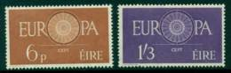 Ireland 1960 6d MLH, 1/3d Europa MUH Lot15289 - Used Stamps