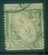 Ireland 1922-23 1/2d Sword Of Light Coil FU Lot78546 - 1922-37 Irish Free State