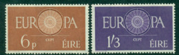 Ireland 1960 Europa MUH Lot15730 - Used Stamps
