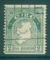 Ireland 1922-23 2d Map Of Ireland Coil FU Lot78548 - 1922-37 Irish Free State
