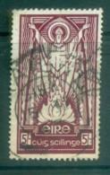 Ireland 1937 5/- St Patrick Wmk Se FU Lot78564 - 1922-37 Irish Free State