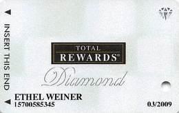 Harrah's Casino Multi-Property - TR Diamond Slot Card @2007 / 12 Casino Logos - Cartes De Casino