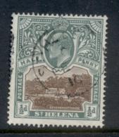 St Helena 1903 Badge Of The Colony 0.5d FU - Sainte-Hélène