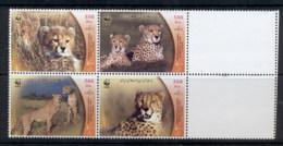 Middle East 2003 WWF Asiatic Cheetah MUH - Iran